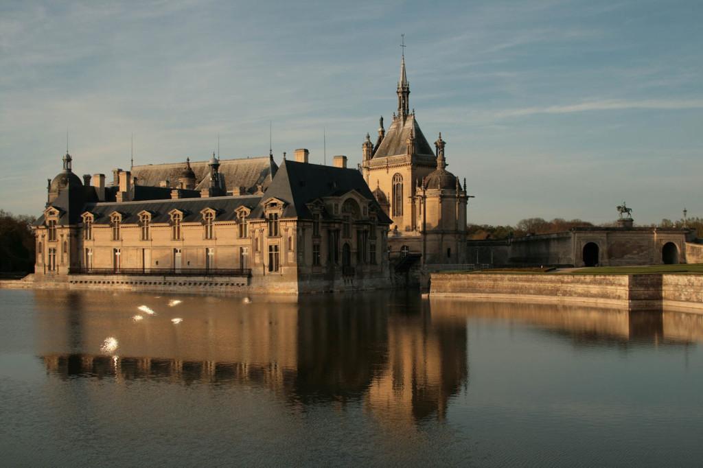 """Même """"à la fraîche""""... Il y a une ambiance à Chantilly et dans sa région."""