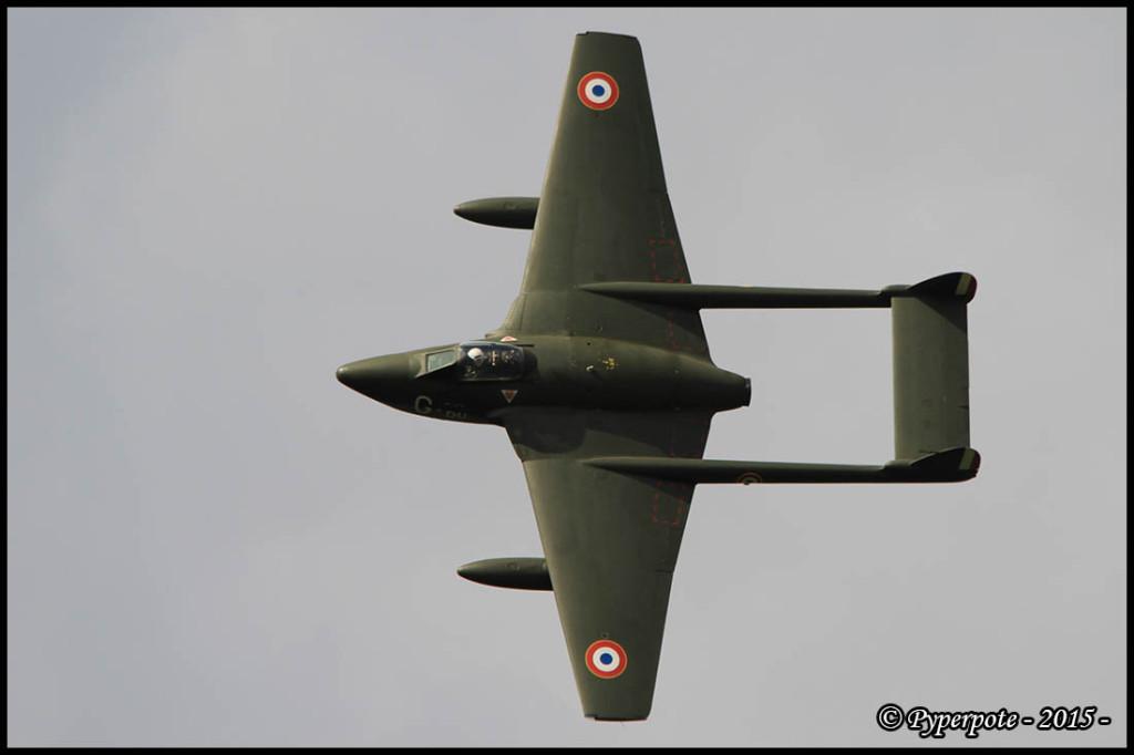 De Havilland DH-110 Vampire FB.6 - 700 / F-AZIK