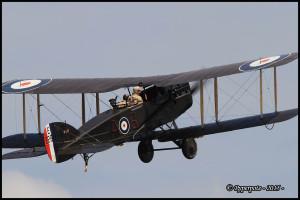Bristol Fighter F2B - Les Casques de cuir