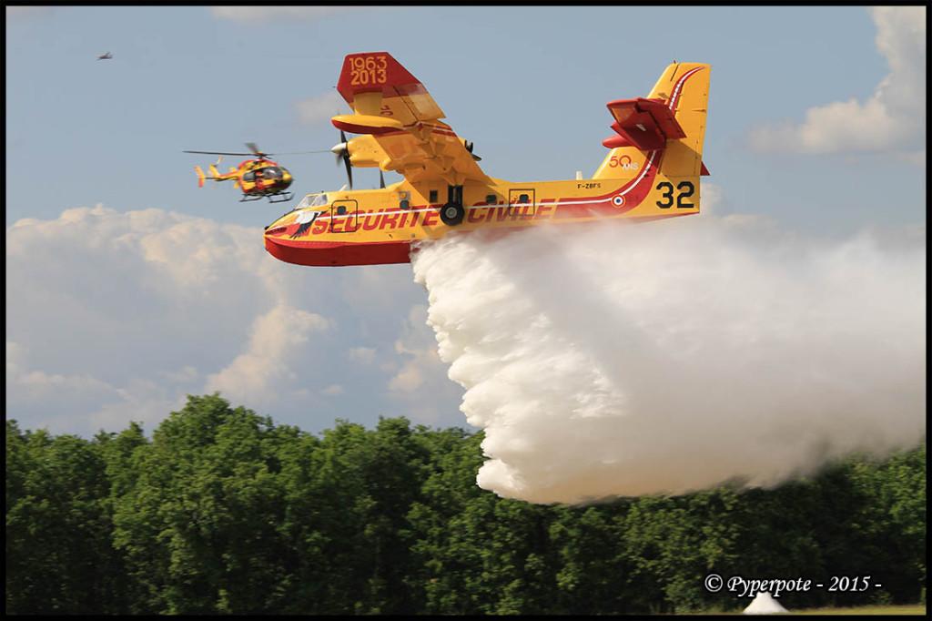 Canadair CL-415 - F-ZBFS n°32