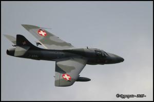 Hawker hunter T Mk68 J-4201 HB-RVR