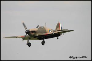 Hurricane Mk IIa DR393 F-AZXR