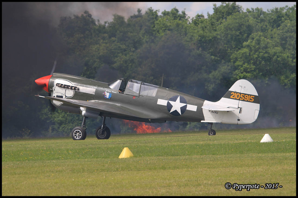 Curtiss P 40 N5 n°42-105915 France's Flying Warbirds