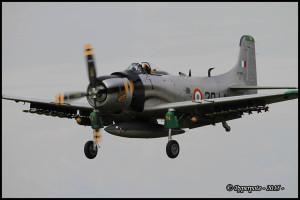 Douglas AD-4N Skyraider - F-AZHK
