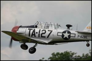 NORTH AMERICAN T6-G n°8812127 F-AZBE