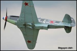 YAK 3 UA n°Y-337 F-AZXZ