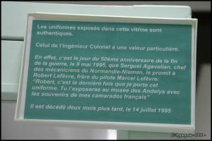 Musée des Andelys, les uniformes 04