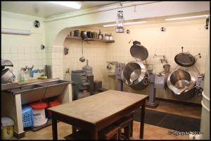 Pré-Giroud - Fort 3945 - Vallorbe (Suisse) - La cuisine