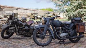 Motos militaires à Liancourt (60)