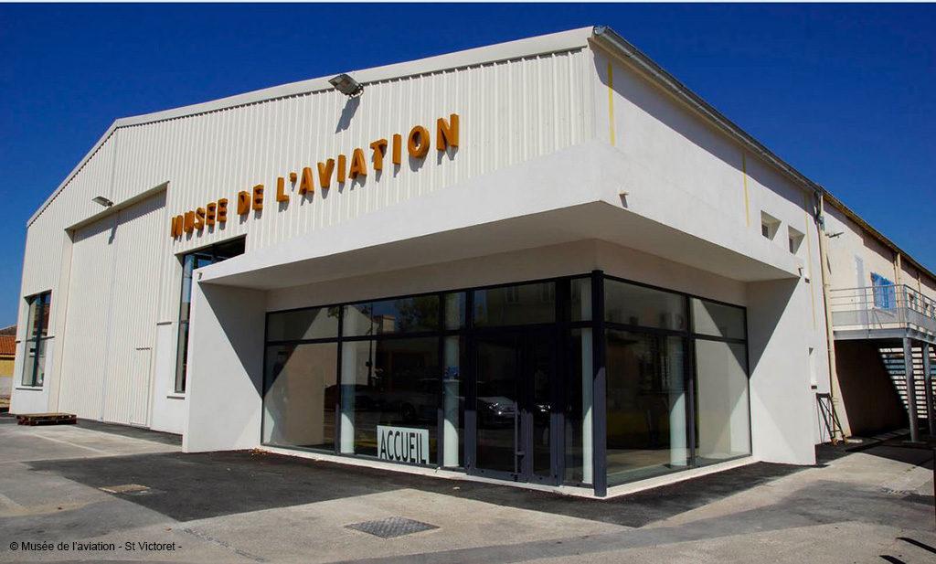 Musée de l'Aviation de Saint-Victoret le bâtiment