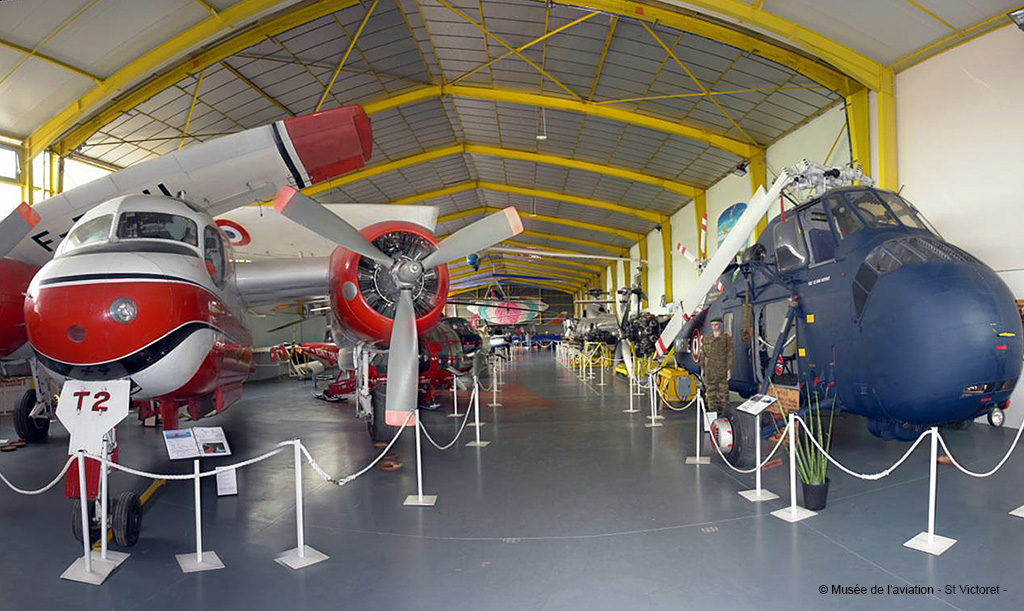 Musée de l'Aviation de Saint-Victoret, vue d'ensemble
