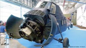Musée de l'Aviation de Saint-Victoret, Sikorsky. S 58 944 HSS 1. n° 41 codé 944. Fabriqué sous licence par Sud Aviation en 1959. 1959 – 1979