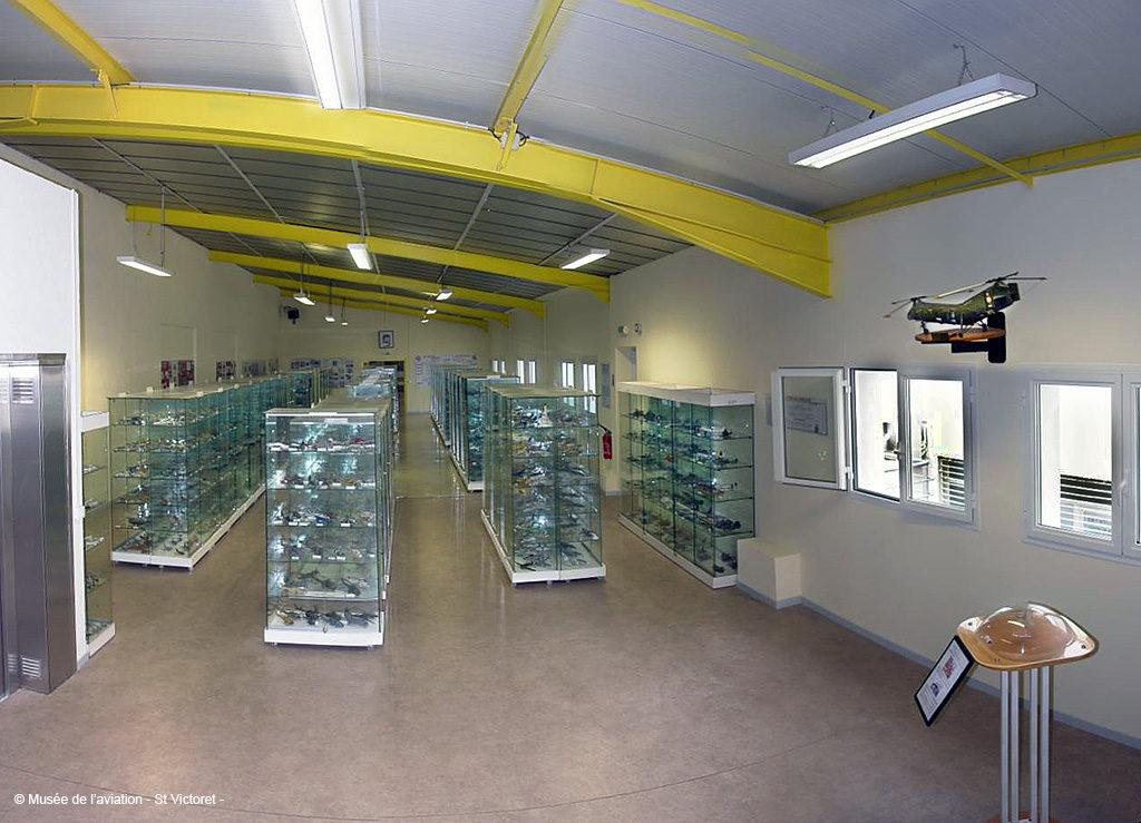 Salle des maquettes, Musée de l'Aviation de Saint-Victoret