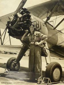 1945 - Jeune et fringant en 1945 sur PT-13 aux Etats-Unis.photoUSAF. Coll. G