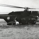 1965 - Essais hydroplanage sa 3210 02 Etang de Berre. ph. Sud-Aviation coll