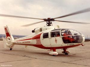 1972 - SA 360 001 F-WSQL 1972 quelques vols sur cet appareil