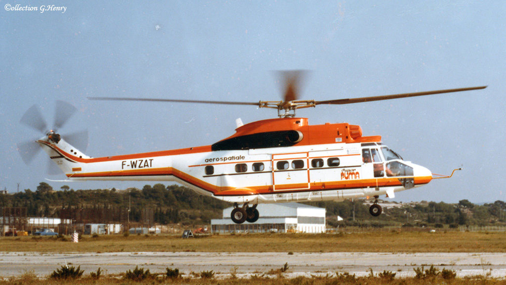 1977 - AS 332 01 Starflex ph.Aerospatiale coll