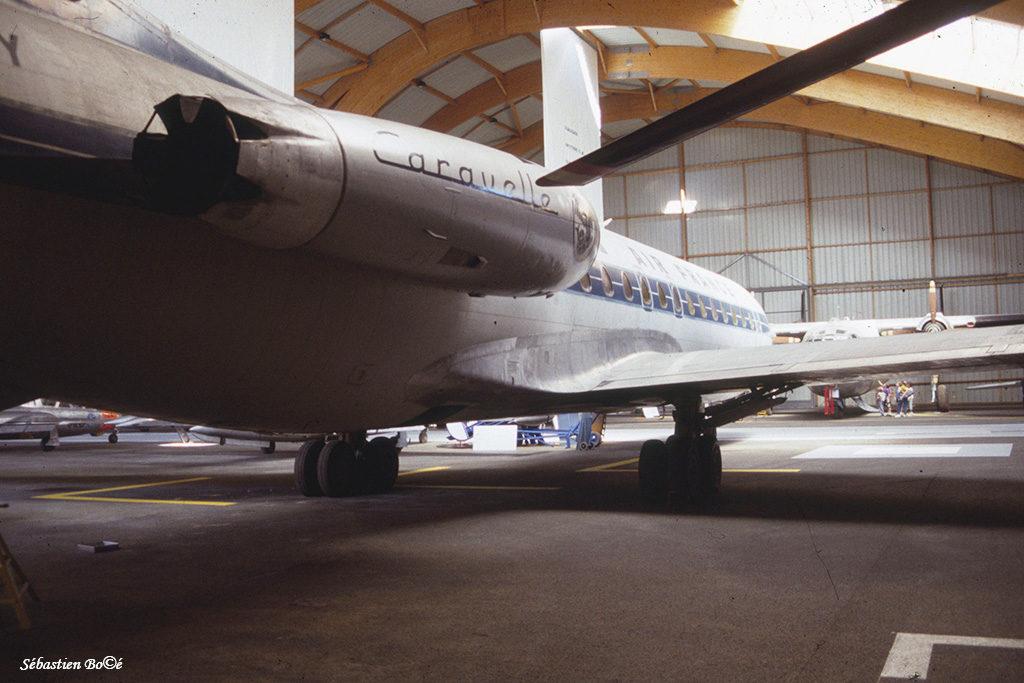 Caravelle n°67 au Musée de l'Aviation Nancy-Essey