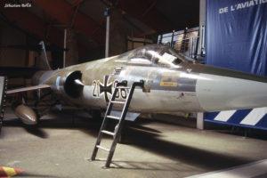 F-104 G n°7065 au Musée de l'Aviation Nancy-Essey