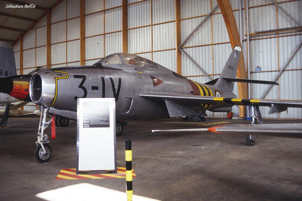 F-84F au Musée de l'Aviation Nancy-Essey