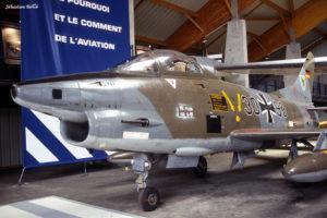 fiat G91 au Musée de l'Aviation Nancy-Essey
