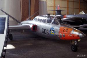 Fouga Magister n°24 au Musée de l'Aviation Nancy-Essey