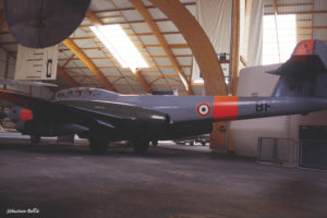 Gloster Meteor NF-11 n°9 au Musée de l'Aviation Nancy-Essey