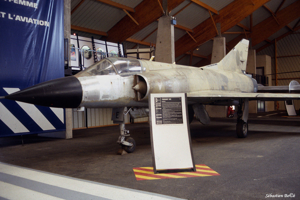 Mirage IIIC n°27 au Musée de l'Aviation Nancy-Essey
