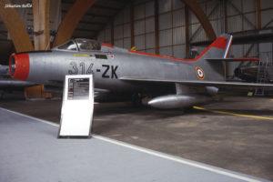 Dassault Mystere IV n°23 au Musée de l'Aviation Nancy-Essey