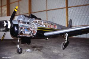 Noralpha F-BLQV au Musée de l'Aviation Nancy-Essey
