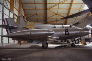 Dassault Ouragan n°8 au Musée de l'Aviation Nancy-Essey