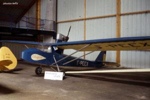 """Motoplaneur SFAN 2 """"l'Auguste"""" au Musée de l'Aviation Nancy-Essey"""