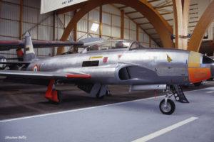 T-33 F-ZAGE au Musée de l'Aviation Nancy-Essey