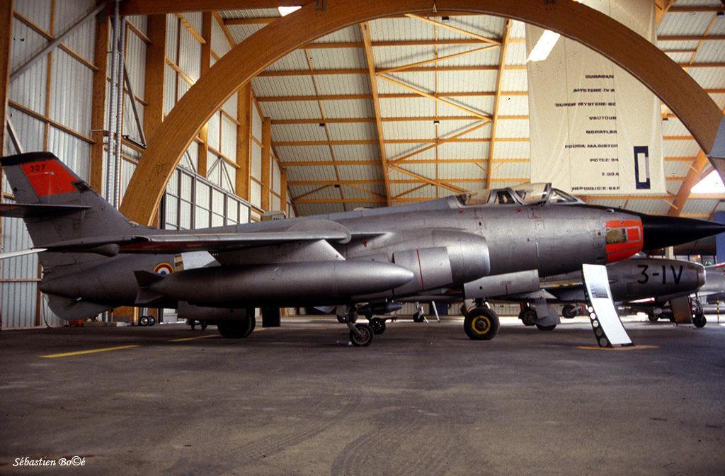 Vautour n°307 au Musée de l'Aviation Nancy-Essey