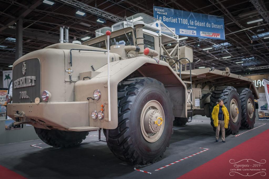 Berlier T100, rétromobile 2019