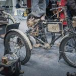 Tricycle De Dion Bouton avec remorque Rétromobile 2019