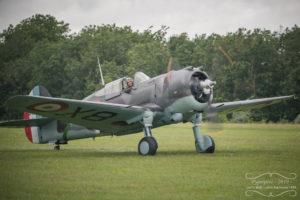 Arrivée du Curtiss H75