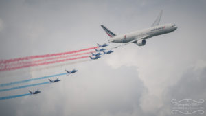 Triple 7 Air France et la PAF