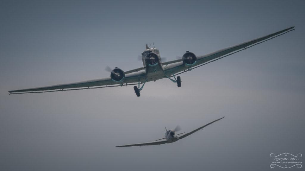 JU-52 et Ramier