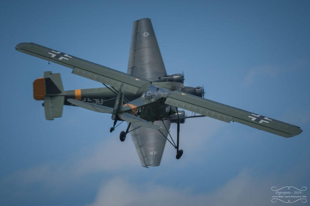 Ju-52 et Storch