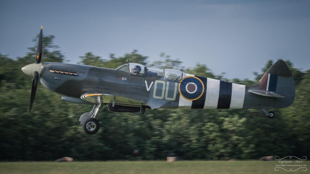 Spitfire à la Ferté Alais 2019
